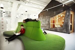 інтерєр шведських шкіл нагадує офіс Google