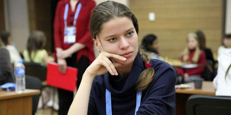 Наталія Букса - чемпіонка світу з шахів серед yніорів