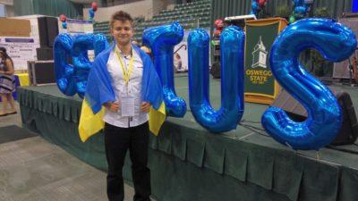 Микола Іванченко здобув «золото» на олімпіаді GENIUS за нафтовий адсорбент