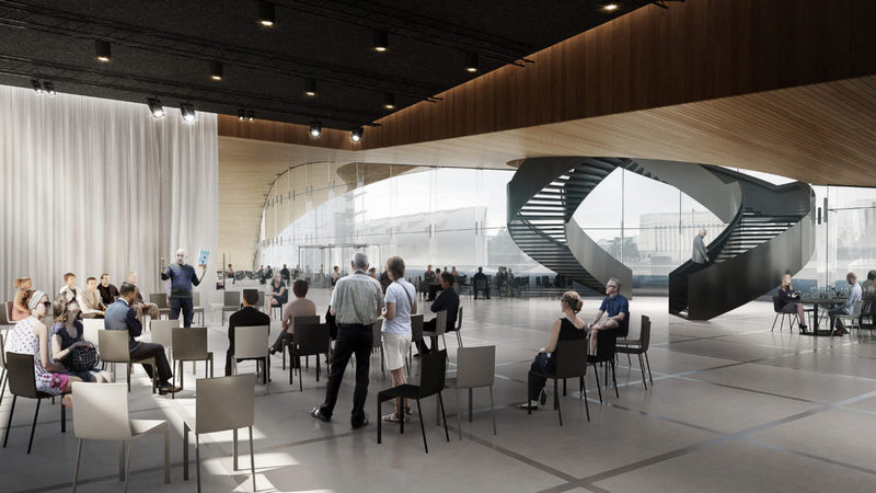 Багатофункціональний зал бібліотеки Oodi